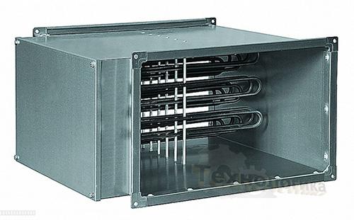 Воздухонагреватели для прямоугольных каналов KORF ELN