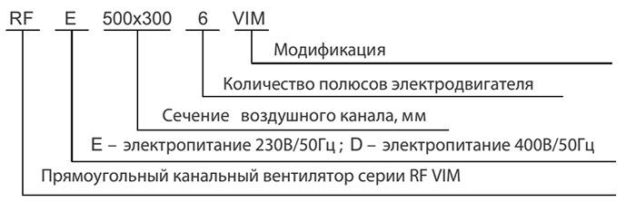 Условные обозначения SHUFT RFE 600x300 - 6 VIM