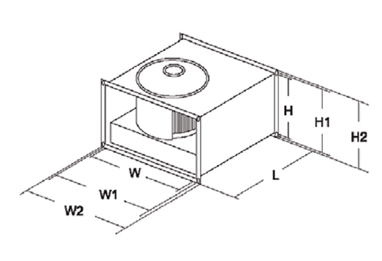 Габаритные размеры SHUFT RFE 600x300 - 6 VIM